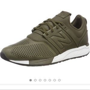 New Balance 247 Sneaker Olive with White